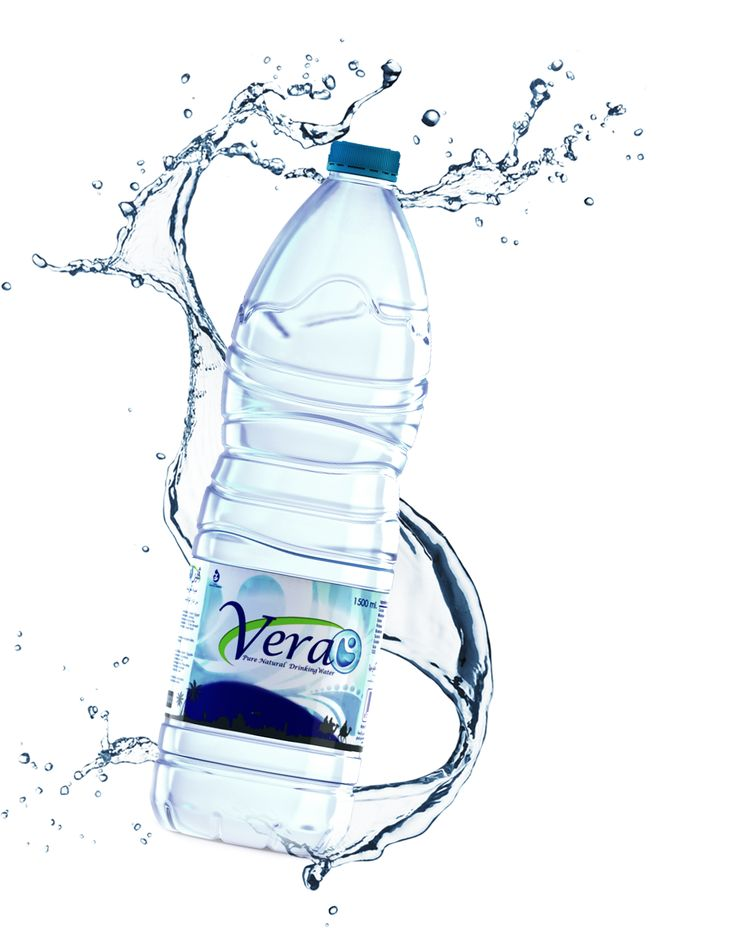 Website created for purified, elegant, clear water bottle.
