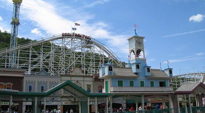 The Lake Componce Amusement Park is the oldest continously running amusement park in North America. It used to have big name concerts for a few years in the early 90s, but now still continues big band as well as local pop bands.