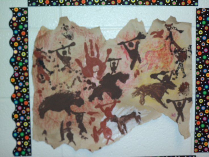 Caveman Art Project : Best cave painting images on pinterest draw drawing