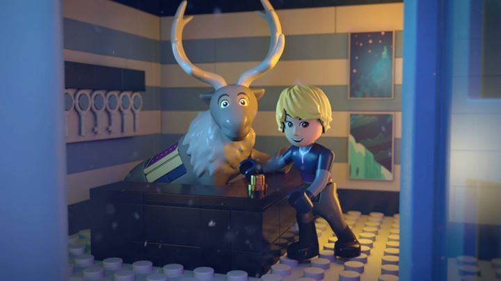 What was your favorite scene with Kristoff? Watch LEGO Disney #FrozenNorthernLights now on YouTube: http://di.sn/61808MWI4 #FROZEN #ELSA #ANNA #OLAF #KRISTOFF