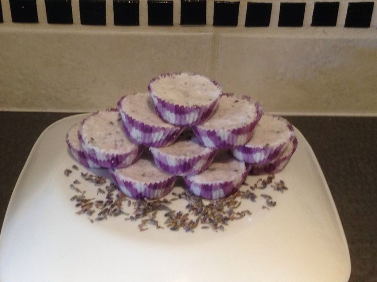 LAVENDER CUPCAKE BATH BOMBS!! Available on our website www.naturalalternativearomatherapy.ca Only $3 or 4 for $10!!!