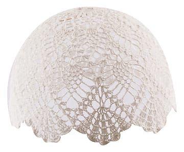 Paralume per lampadario in cotone Clode - 30x18 cm