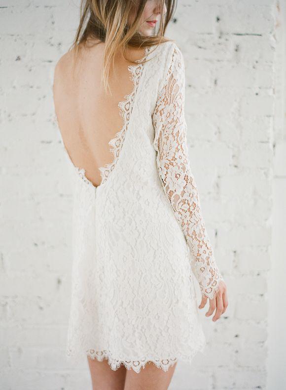 10 Short & Sweet Wedding Dresses: Rime Arodaky