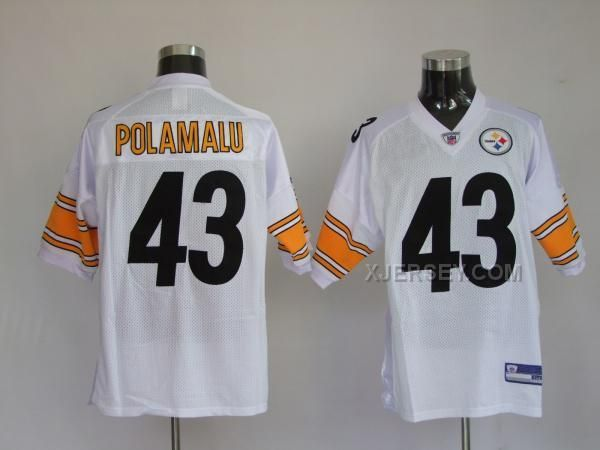 http://www.xjersey.com/pittsburgh-steelers-43-troy-polamalu-white-jerseys.html PITTSBURGH STEELERS 43 TROY POLAMALU WHITE JERSEYS Only $34.00 , Free Shipping!