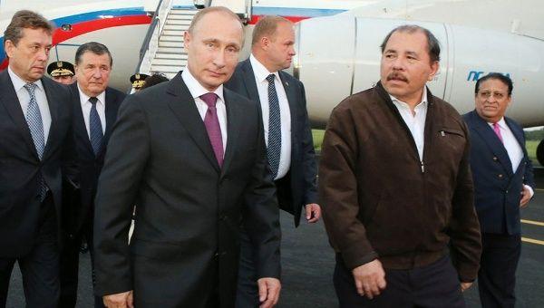 Vladimir Putin felicita a Nicaragua por su independencia