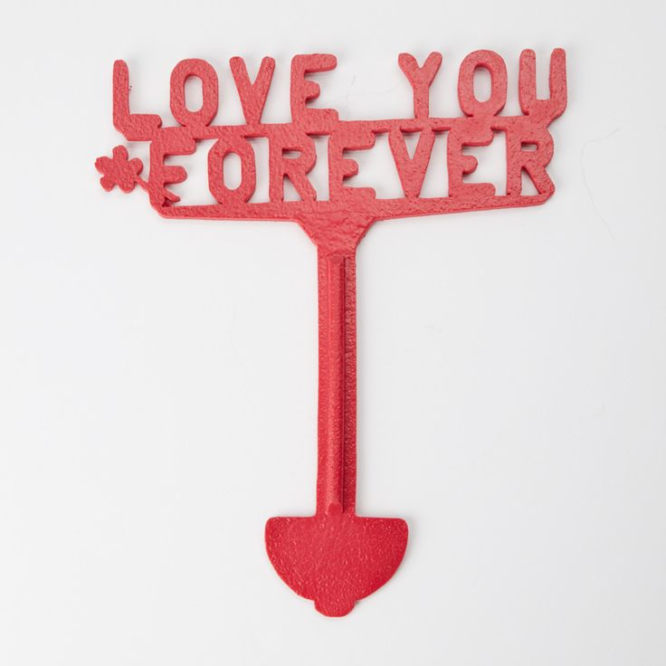 Love You Forever Cemetery Decoration Grave Ornament