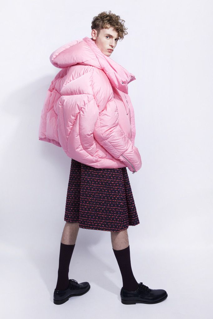 CHEN PENG - PINK PUFFER JACKET | as seen on Rihanna – Studio Collection London