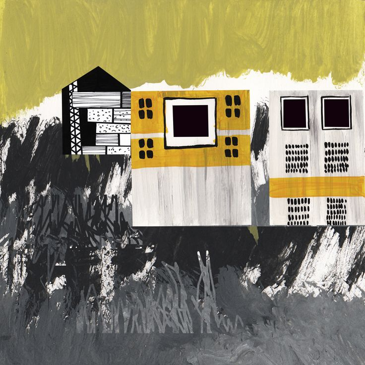 """Collage Landscape #10"" Author: Alina Shagidullina (a creator and owner of HOUZY) @_houzy"
