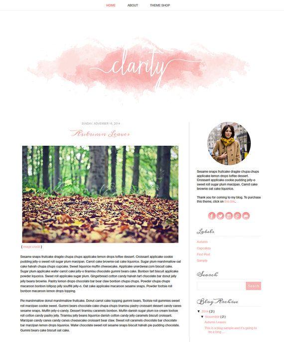 blog design templates
