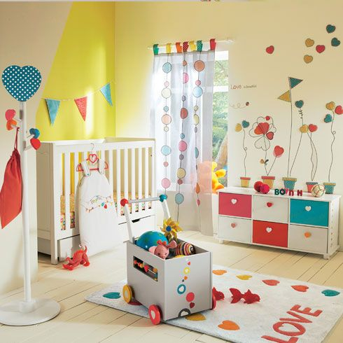 69 best images about decoraci n de dormitorios on - Dormitorio para bebe ...