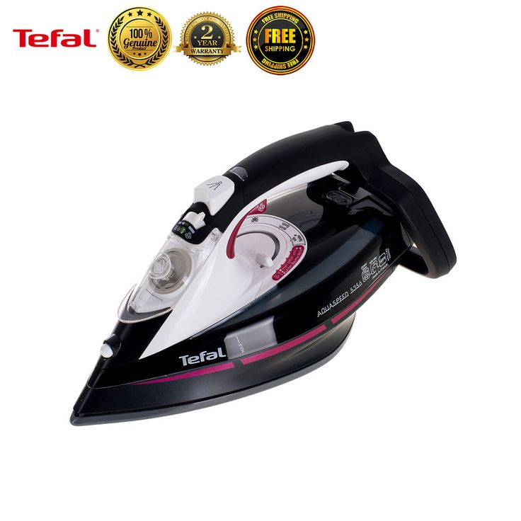 Tefal FV5356 Garment Steamer Fabric Powerful Steam Iron Clothes Laundry New #Tefal