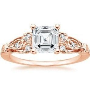 rose gold and diamonds//
