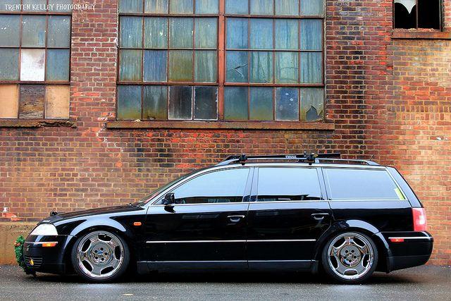Slammed VW Passat Wagon | VW Passat Wagon | Flickr - Photo Sharing!