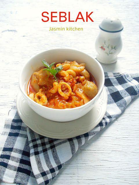jasmin's kitchen: Seblak Merapi