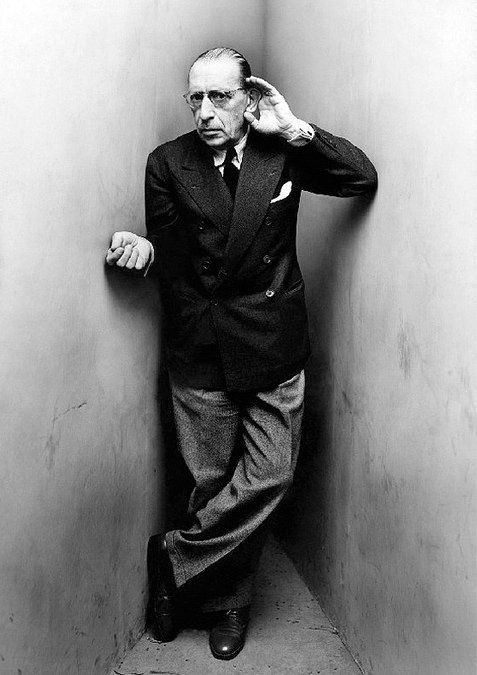 Irving Penn, Igor Stravinsky, New York, April 22, 1948. Courtesy of The Irving Penn Foundation.
