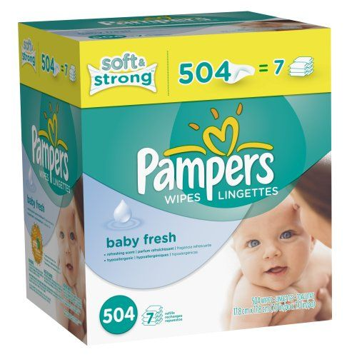 Pampers Softcare Baby Fresh Wipes 7x box, 504 Count | Multi City Health  List Price: $14.93 Discount: $5.98 Sale Price: $8.95