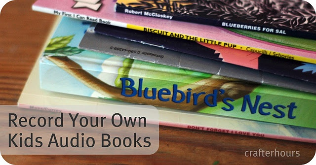 Record Your Own Audio Books.  Remember this for next Christmas.