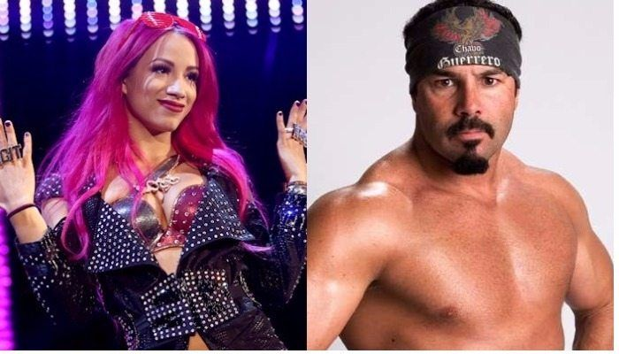 Chavo Guerrero reacts to Sasha Banks singing Eddie Guerrero's WWE theme song