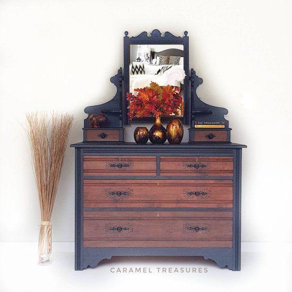 13++ Black dresser with mirror ideas info