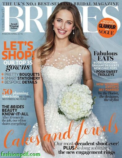 Brides UK – March – April 2016