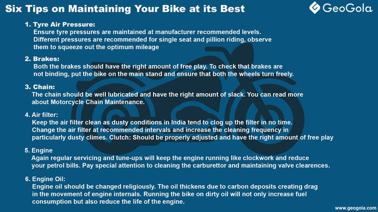 #Geogola #mobileapp, #Tips for #Maintaining  #Bike To Install Click this link : http://lnk.al/1K6G