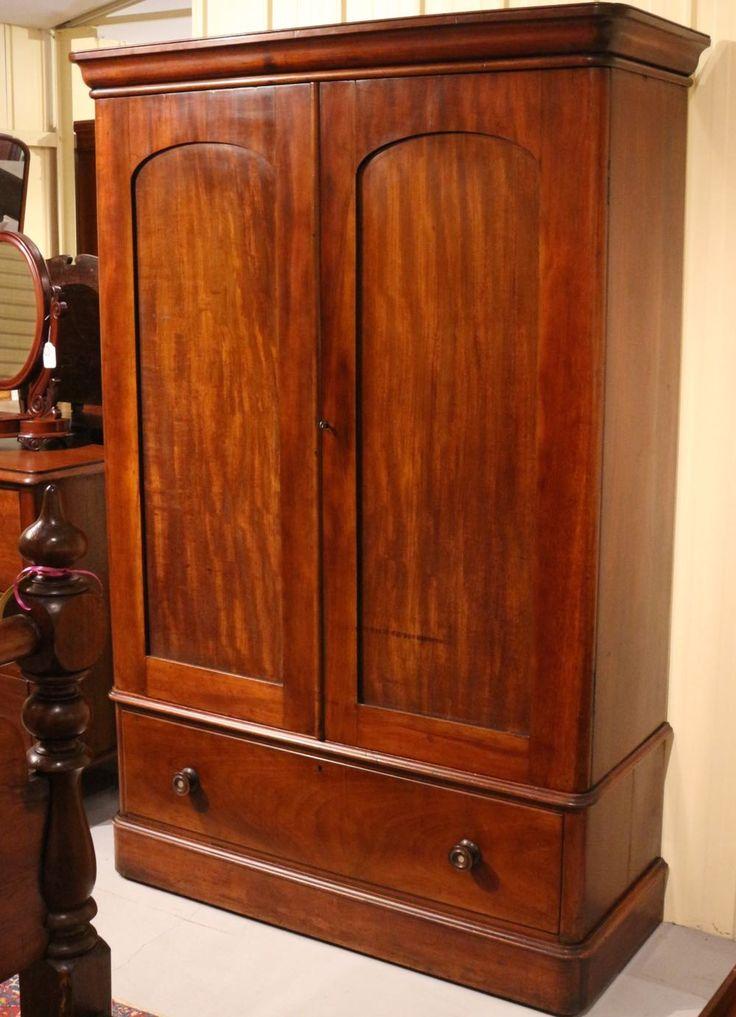 19th Century Australian Cedar Wardrobe