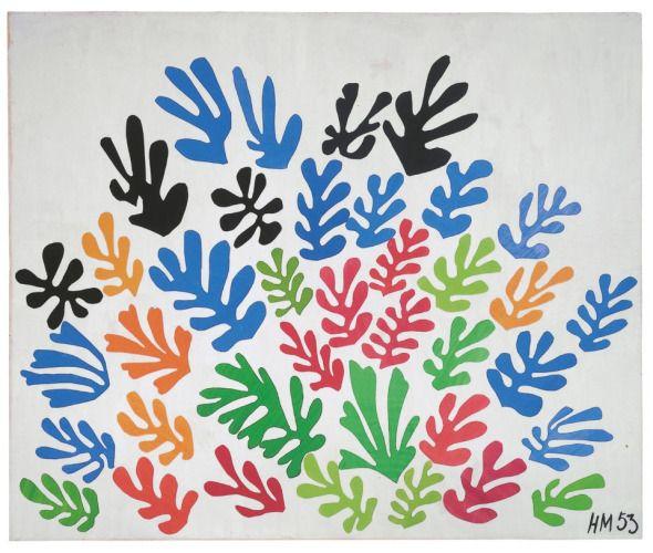 Los recortables que dieron vida a Matisse / Julia Luzán + @elasombrario | #nosoltoecnicabupm