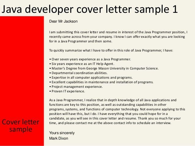 Cover Letter For Java Developer from i.pinimg.com