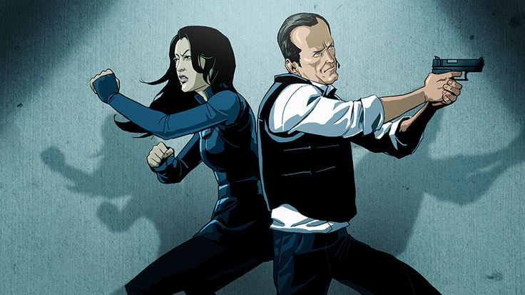 May et Coulson de Marvel's Agent of Shield