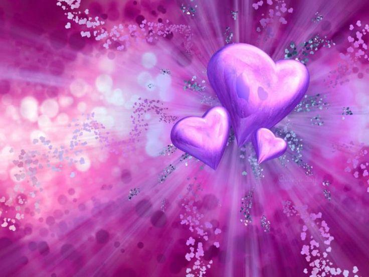 b3342066050382a8e634353fdb7bc9f4 heart background background ideas - Purple-Heart –ღ~ I ❤