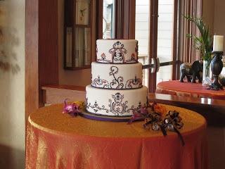 Gaurav shukla wedding cakes