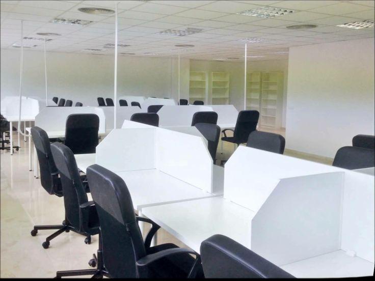 Reforma de oficinas y acondicionamiento para Coworking Fuente Lucena en Torremolinos (Málaga)