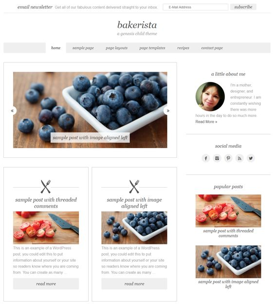 12 mejores imgenes de 12 more of the best wordpress themes for this wordpress theme for food and recipe websites includes a minimal design 4 preset color forumfinder Gallery