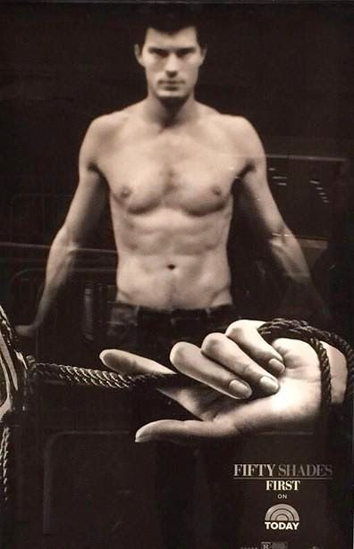 Jamie Dornan Life: New Promo Picture from 'Fifty Shades of Grey'- I foresee a tame vanilla introduction to BDSM in this movie.