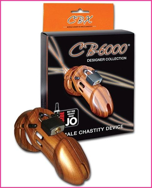 The CB-6000 Male Chastity Device is a new innovative design offering the utmost in comfort and security. The ring design consists of three interlocking pieces that fit together like a puzzle.  The different size rings and spacers included in each package allow you to customize your fit to your individual needs. The CB-6000 restricts you from touching your genitals for sexual pleasure and gives the KeyHolder control over the sexual fulfillment of both partners.