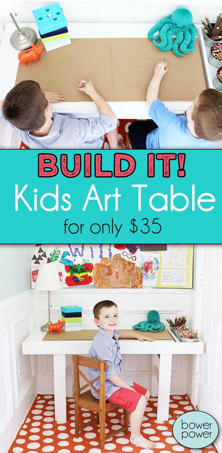 Kid's Art Table