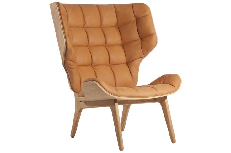 Mammoth Chair, Natural / Leather