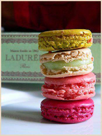 Ladurée famous macarons. #Foodies