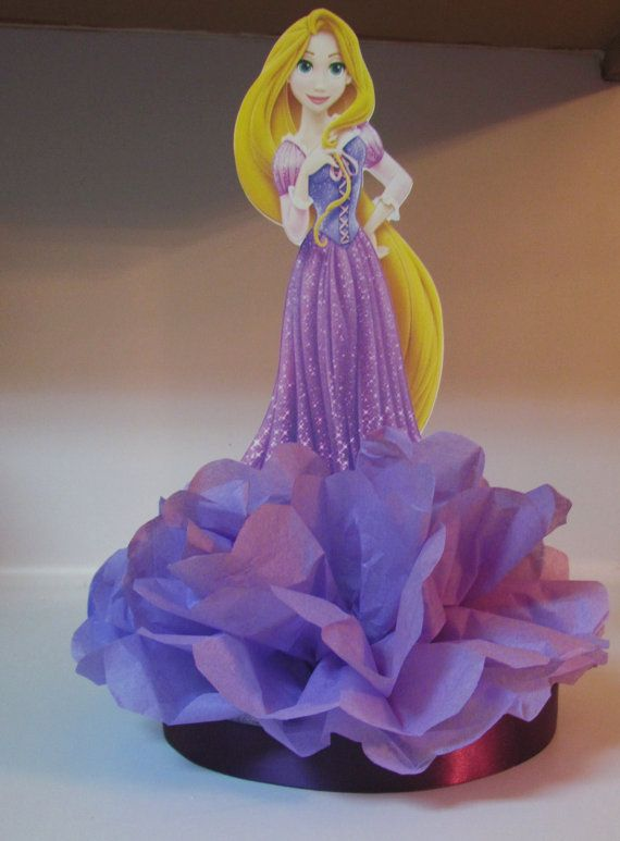 Rapunzel Tangled Princess Centerpiece by KhloesKustomKreation, $12.00