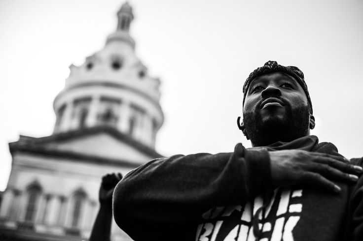 Devin Allen's Inside Story in Baltimore - The New York Times