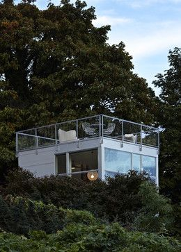 Tower House   Modern   Terrasse   Seattle   David Coleman / Architecture