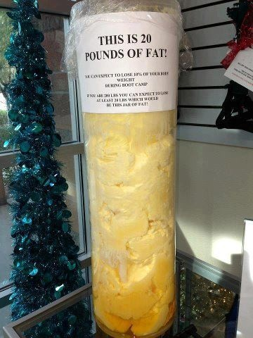 Gotta loose the FAT