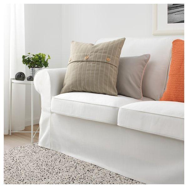 Festholmen Cushion Cover Indoor Outdoor Beige 20x20 With Images Cushions Cushions Ikea Cushion Cover