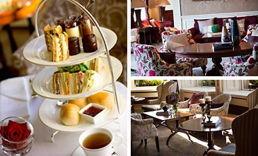 Afternoon Tea at the The Lord Mayor's Lounge in The Shelbourne Hotel in Dublin.  This hotel was built in1824 and is a 5 star luxury hotel overlooking St. Stephen's Green.