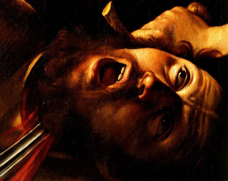 Caravage - Judith et Holopherne , 1600 (détail) .