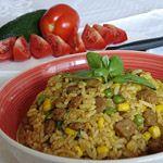 Pikantní sojové rizoto