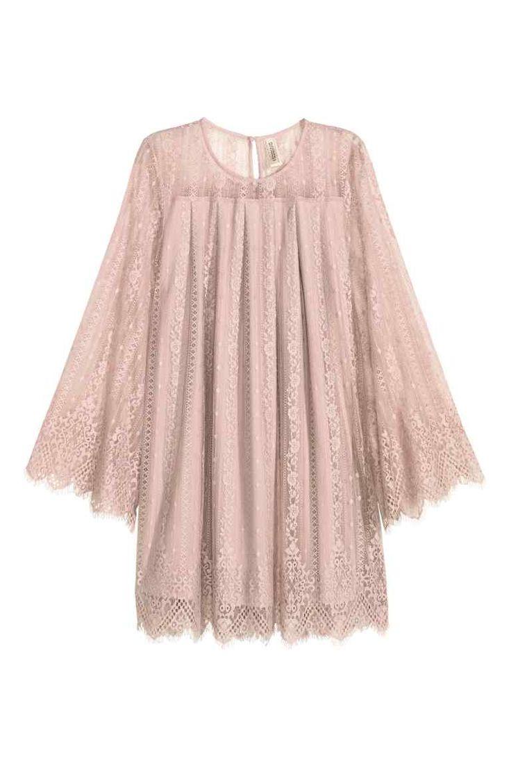 Pink Lace Dress S