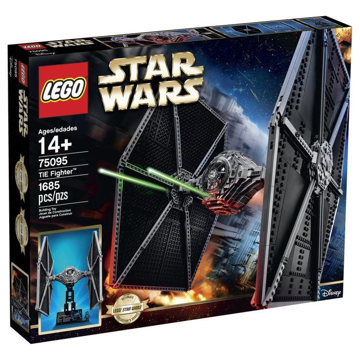 Comparez les prix du LEGO Star Wars 75095 TIE Fighter avant de l'acheter ! Infos, description, images, vidéos et notices du LEGO 75095 TIE Fighter sur Avenue de la brique