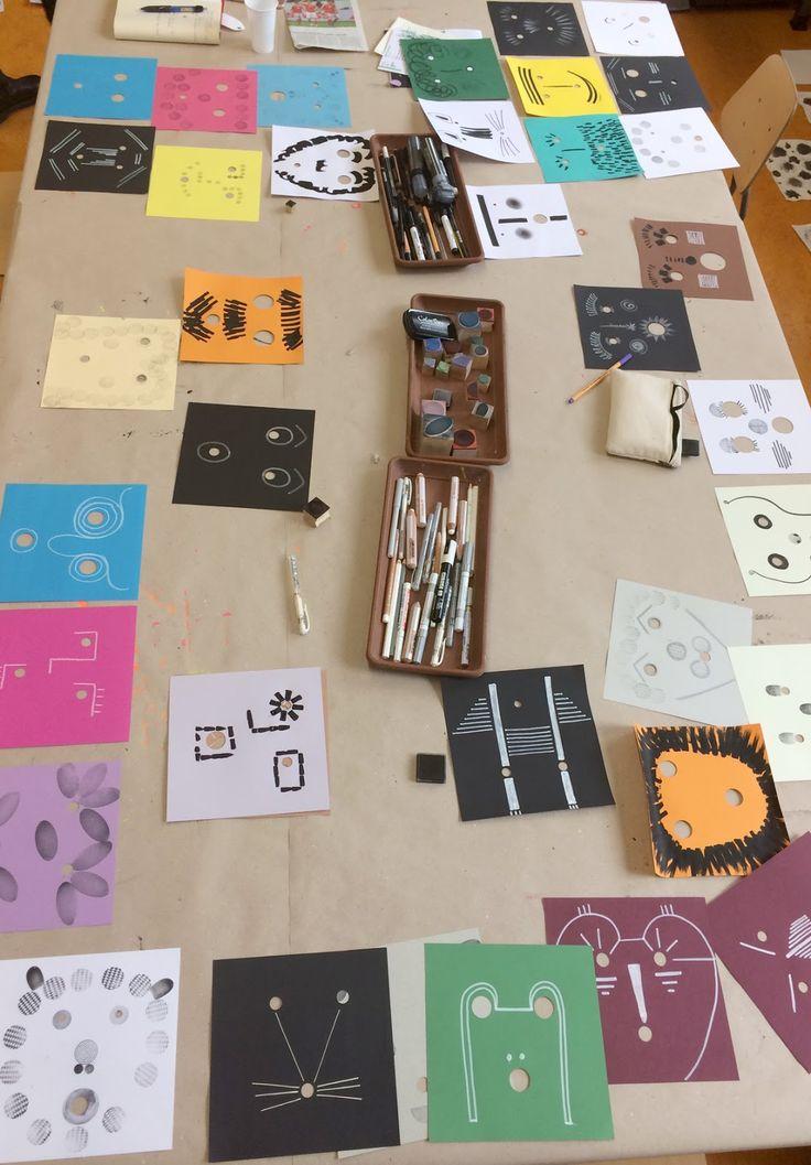 """""""Guardiamoci negli occhi""""  è un libro-gioco di Bruno Munari edito da Corraini nel quale all'interno vi sono 25 cartoncini di colori diversi ..."""