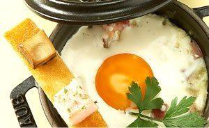 Ouă en cocotte